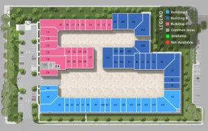 Storage Condo Floor Plan Base Legend