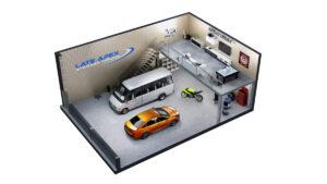 photo-car-storage-garage-upgrade-mezzanine-mooresville-nc