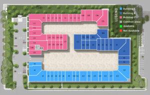 Storage-Condo-Suites-Units-Floor-Plan-Legend